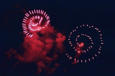 Debian fuegos artificiales