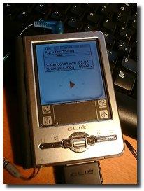 iPod en la Clie